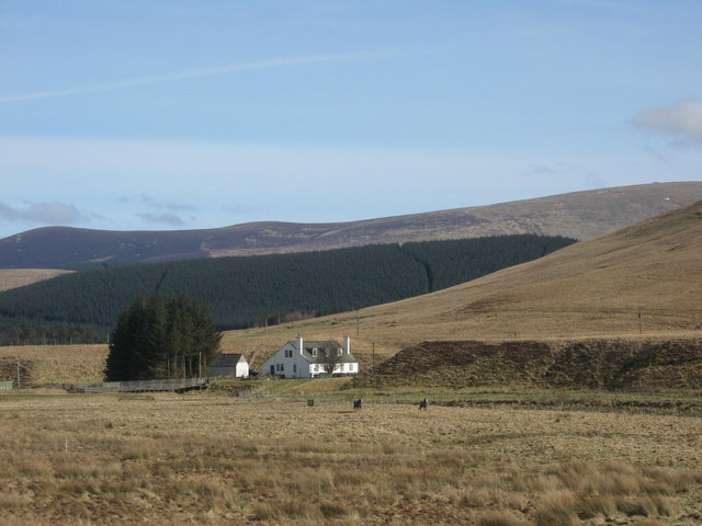 The farmhouse and lands at Hawkshaw
