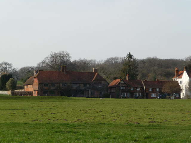 Cottages in Greywell Village