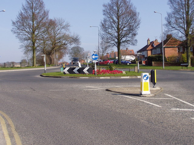 Sewerby Road Roundabout