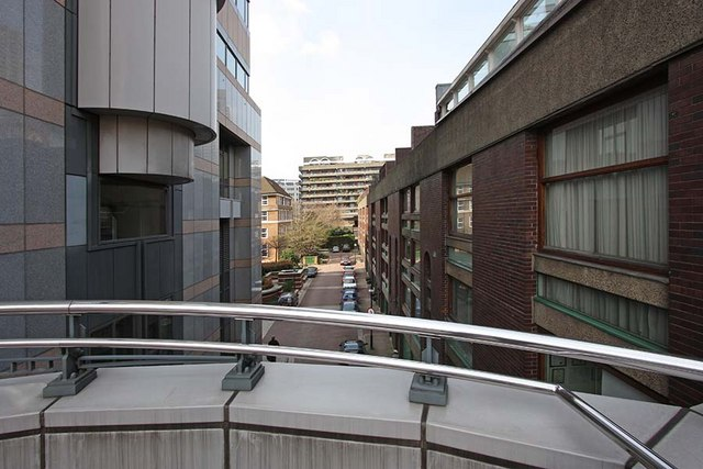 View from Barbican walkway