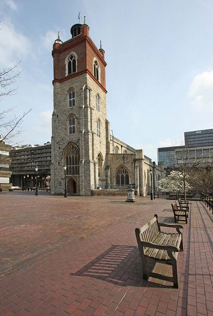 St Giles, Cripplegate, London EC2