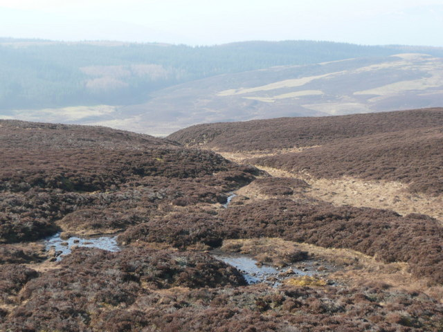 The start of the Allt Cosach