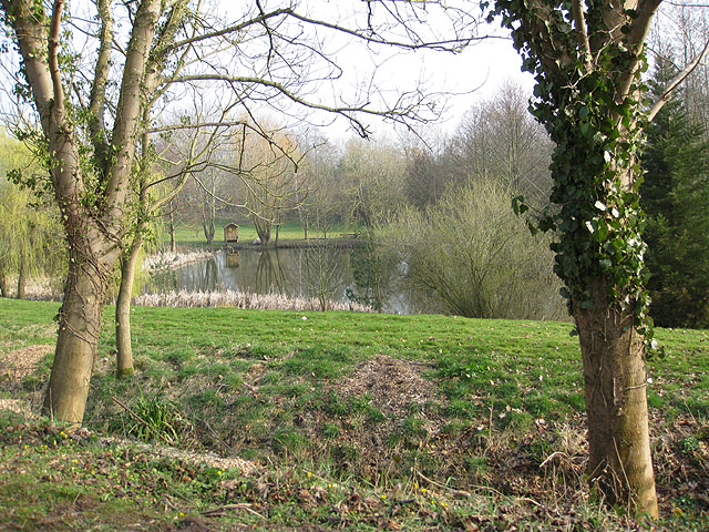 Lake by Rudhall Mill