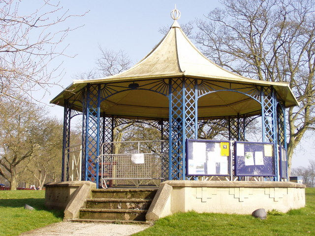 Sewerby Hall Bandstand