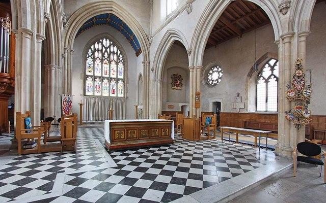 St Giles, Cripplegate, London EC2 - Sanctuary