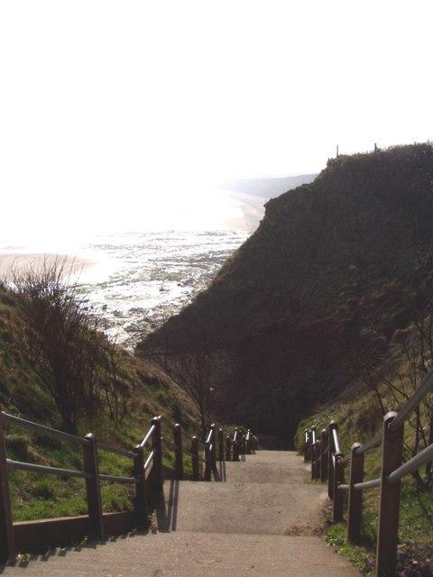 Path Down The Cliff