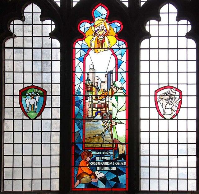 St Giles, Cripplegate, London EC2 - Window