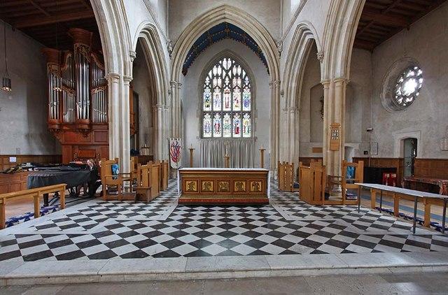 St Giles, Cripplegate, London EC2 - Chancel