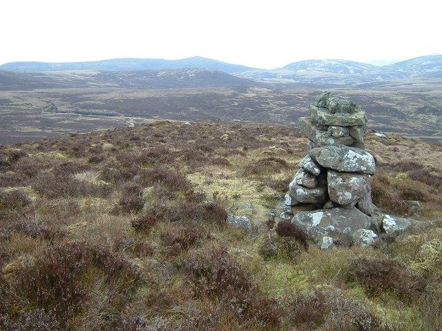 Cairn on White Craig Hill