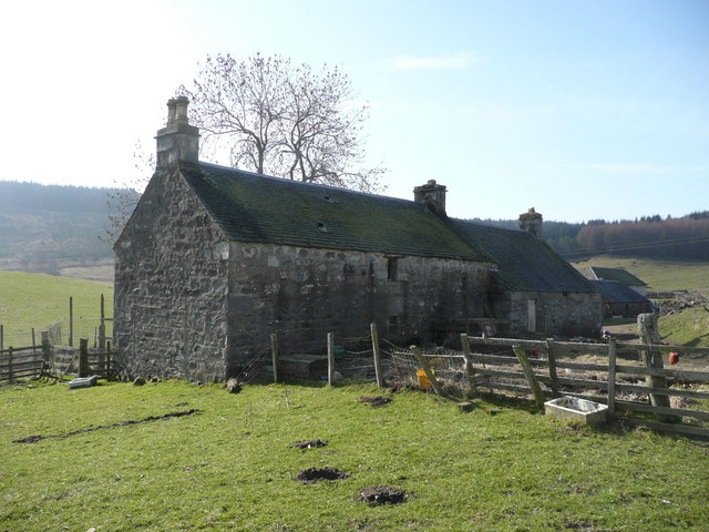 The old steading at Edintian