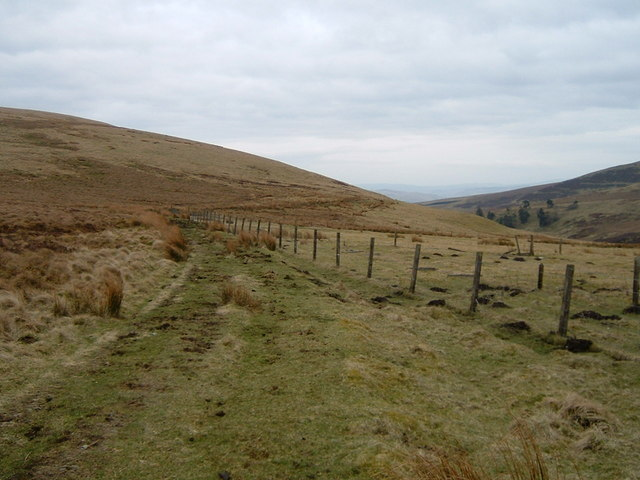 Track contouring Muckle Knock
