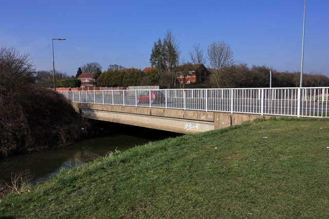 Saltshouse Road Bridge over Holderness Drain