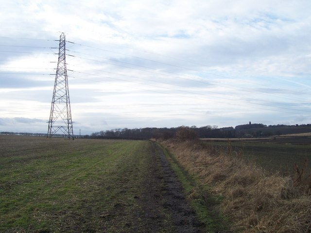 Farmland near to Low Stubbin