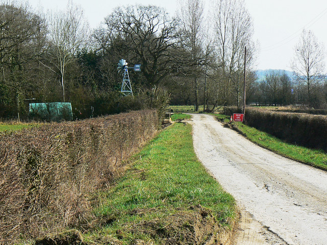 South along Olivemead Lane, Dauntsey