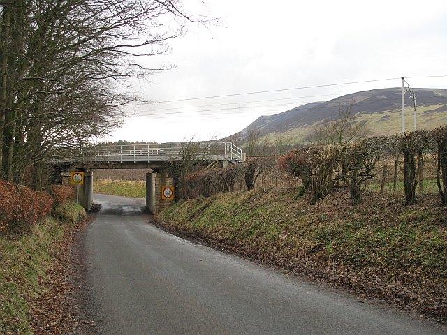 Railway bridge near Symington