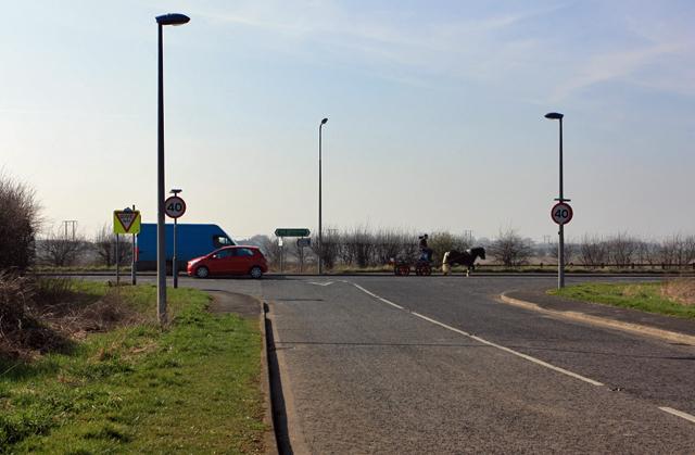A165 - Ganstead Lane junction