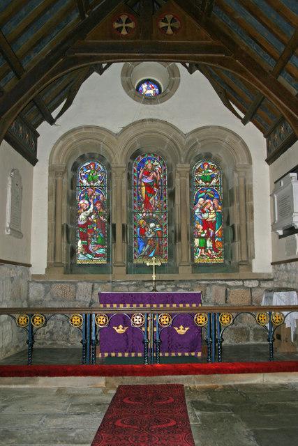 Chancel of Bolton Chapel