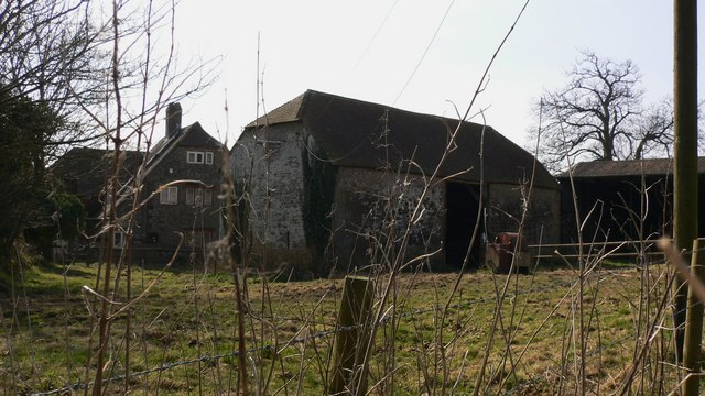 House and barn at Grevatts