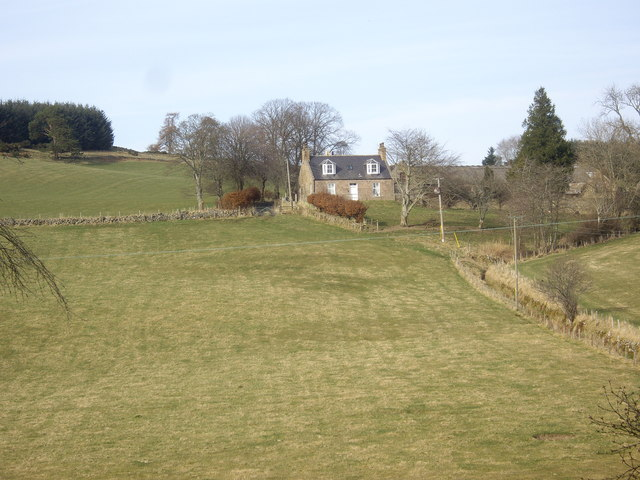 Tillyching farmhouse