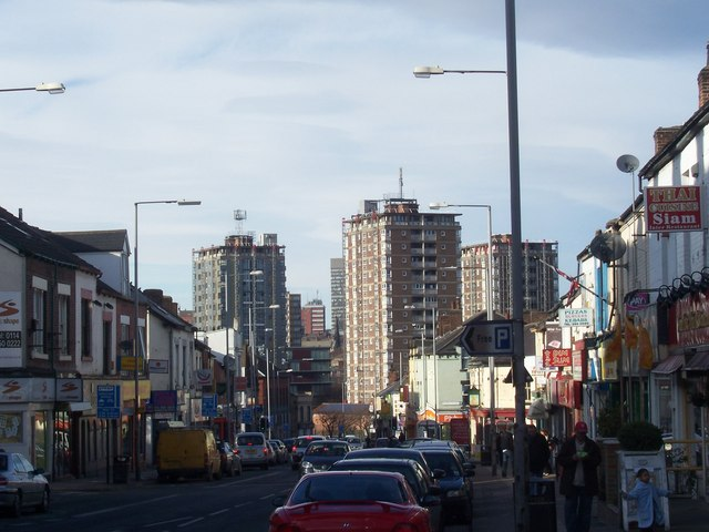 London Road in February 2009
