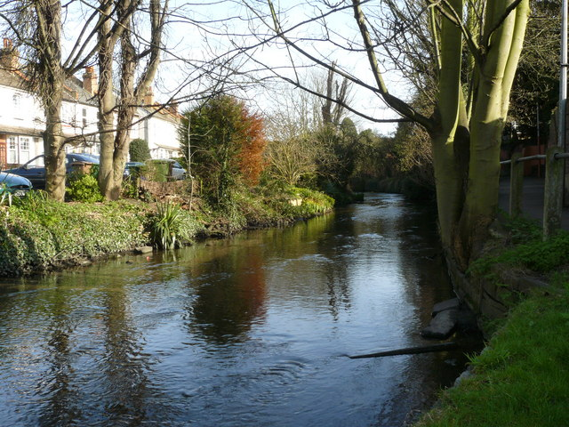 River Wandle at Beddington