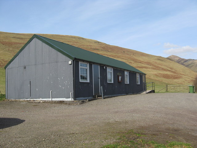 Moffat Water Public Hall at Roundstonefoot