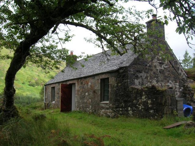 Cottage in Gleann Dubh Lighe