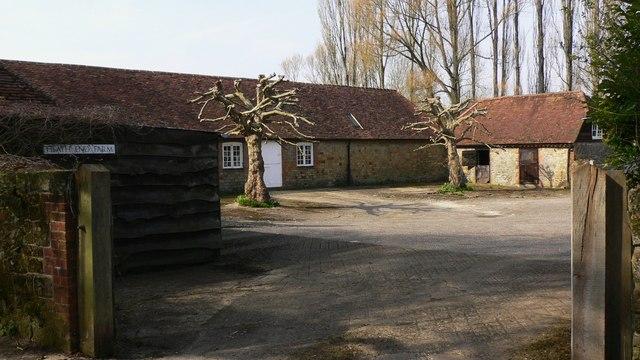Farmyard at Heath End Farm, Lodsworth