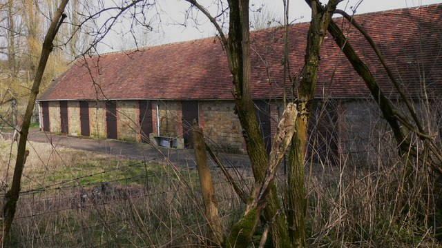 Stable block at Heath End Farm