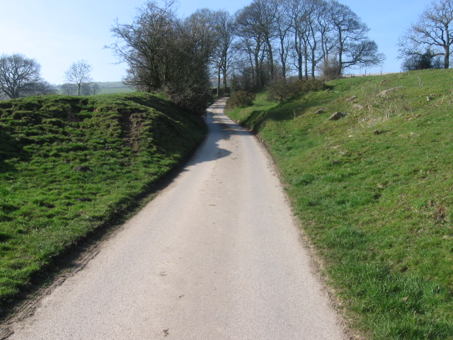 Cow Lane near Hollingworth