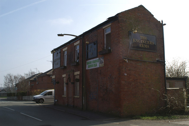 The Engineer's Arms, Engineer Street, Higher Ince