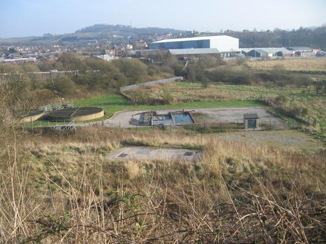 Overlooking Tintwistle Sewage Works
