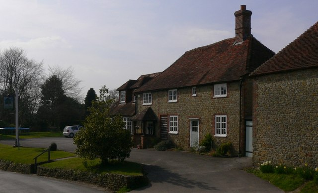 """The Holly Tree"" is a former public house at Easebourne"
