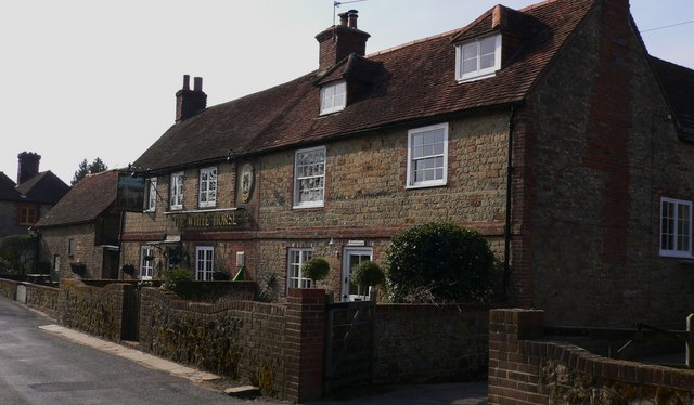 """The White Horse"" is now the only public house at Easebourne"