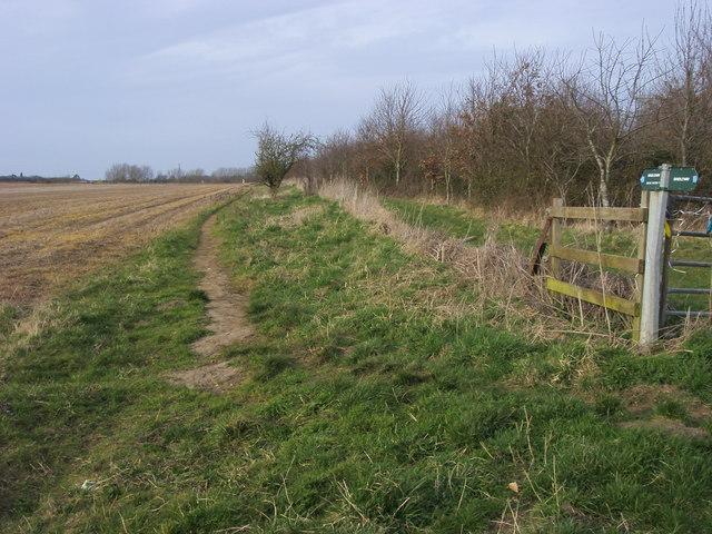 Bridleway to Great Milton