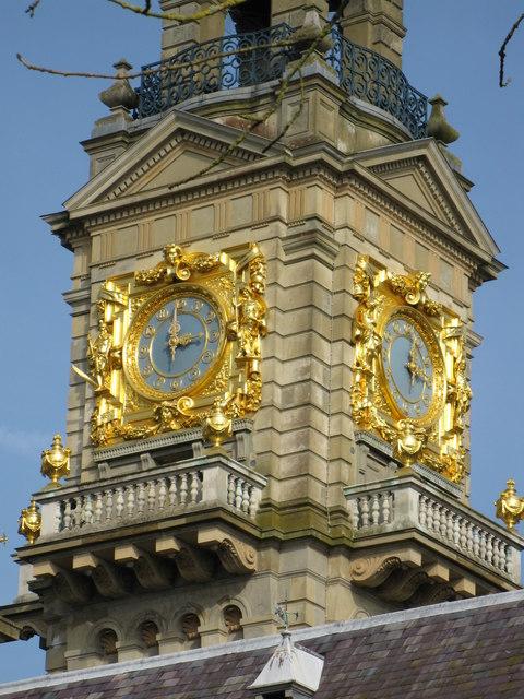 Gilded clock, Cliveden
