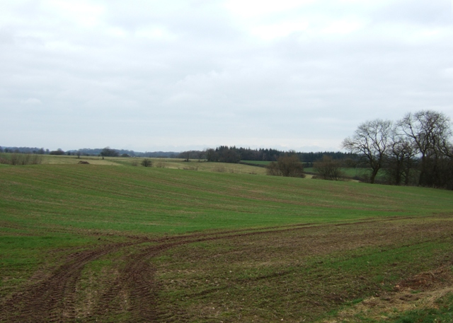 Farmland near Ashley