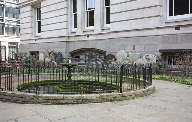 St Botolph without Aldersgate, London EC1 - Churchyard