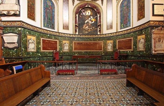 St Botolph without Aldersgate, London EC1 - Chancel