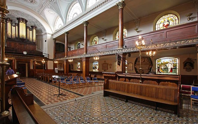 St Botolph without Aldersgate, London EC1 - Interior