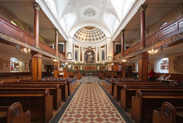 St Botolph without Aldersgate, London EC1 - East end