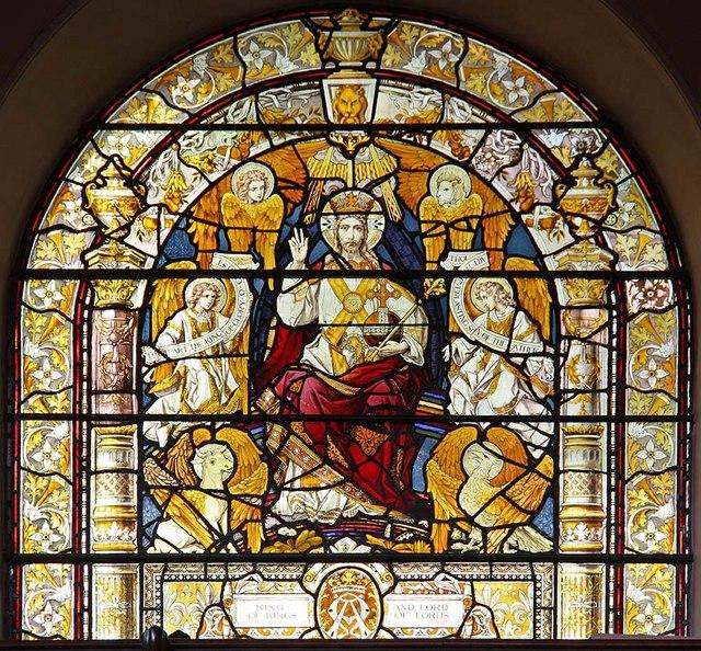 St Botolph without Aldersgate, London EC1 - Window