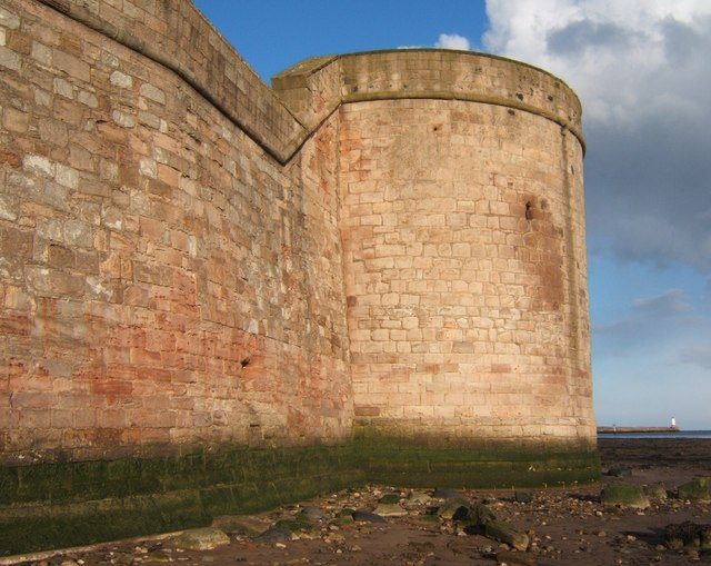 Coxon's Tower at low tide