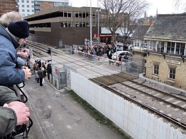 Unopening of the Crossing Gates Ceremony, Lincoln