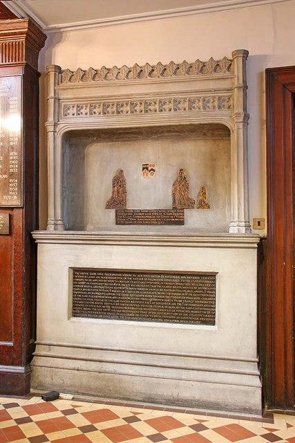 St Botolph without Aldersgate, London EC1 - Monument