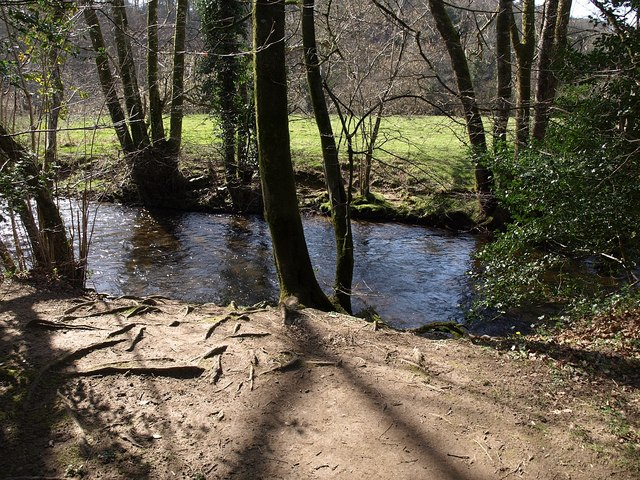 River Bovey, Parke