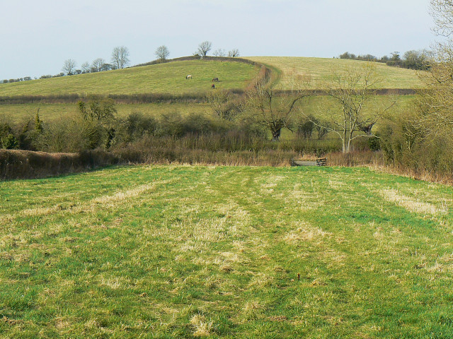 View north from Brinkworth cemetery