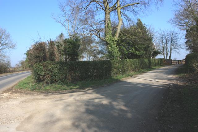 The Lane to Wood Hall