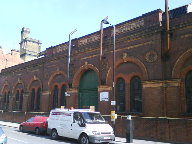 Former London County Council Water Pumping Station