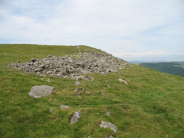 Hillfort, Cademuir Hill